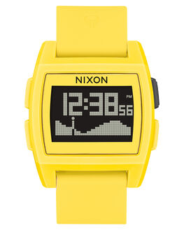 YELLOW RESIN MENS ACCESSORIES NIXON WATCHES - A11042552
