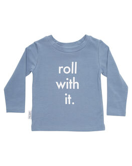 GREY KIDS TODDLER GIRLS TINY TRIBE TOPS - TTW18-1004JGRY
