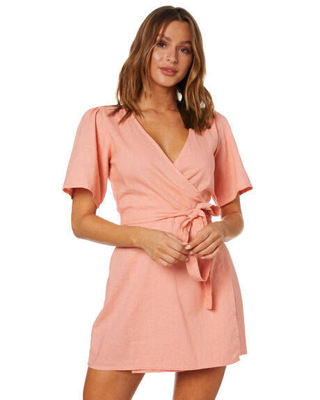 PEACH OUTLET WOMENS RUE STIIC DRESSES - WS-20-18-1-PE-LCPE