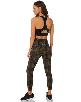 PYTHON PRINT WOMENS CLOTHING LORNA JANE ACTIVEWEAR - 071957PYTH