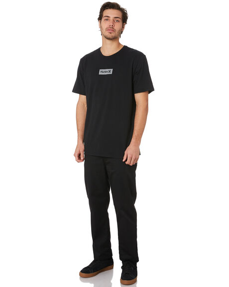 BLACK MENS CLOTHING HURLEY TEES - BV1905010