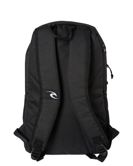 BLACK MENS ACCESSORIES RIP CURL BAGS + BACKPACKS - BBPAQ90090