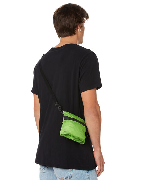 GREEN MENS ACCESSORIES STUSSY BAGS + BACKPACKS - ST797004GRN