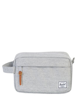 LIGHT GREY XHATCH MENS ACCESSORIES HERSCHEL SUPPLY CO BAGS - 10039-01460-OSLGRY