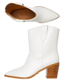 WHITE WOMENS FOOTWEAR BILLINI BOOTS - B965WHT