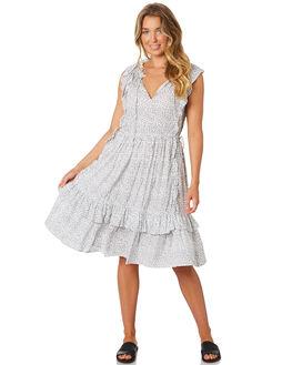 IVORY BRIAR PRINT WOMENS CLOTHING LILYA DRESSES - RD84-LAW19IVB