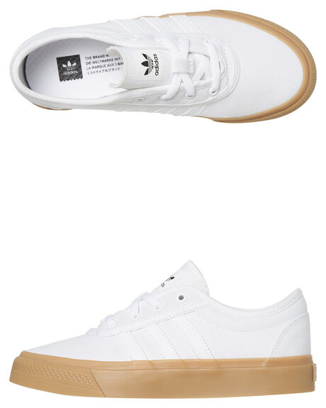 WHITE GUM KIDS BOYS ADIDAS SNEAKERS - DB3118WGUM