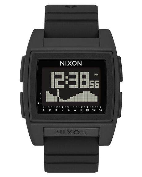 BLACK MENS ACCESSORIES NIXON WATCHES - A1307-000