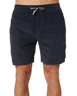 NAVY CORDUROY MENS CLOTHING BARNEY COOLS SHORTS - 651-CC1NVY