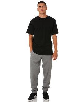 DK GREY HEATHER GOLD MENS CLOTHING CARHARTT PANTS - I026388DGRYH