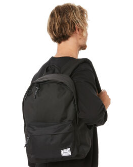BLACK MENS ACCESSORIES HERSCHEL SUPPLY CO BAGS + BACKPACKS - 10485-00001BLK