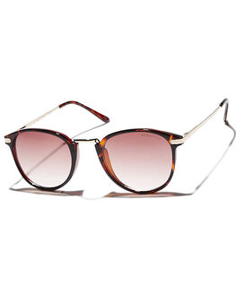 TORT WARM SMOKE GRAD WOMENS ACCESSORIES MINKPINK SUNGLASSES - MNP1108008TORT
