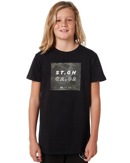 CAMOUFLAGE KIDS BOYS ST GOLIATH TEES - 2414000CAMO