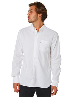 WHITE MENS CLOTHING LEVI'S SHIRTS - 65824-0336