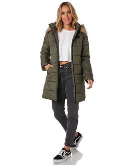OLIVE WOMENS CLOTHING RIP CURL JACKETS - GJKDZ10058