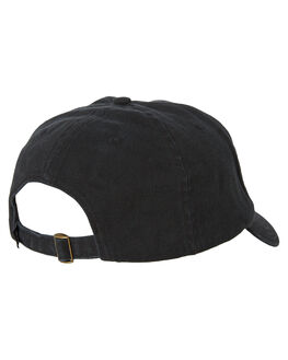 BLACK MENS ACCESSORIES STUSSY HEADWEAR - ST793010BLK
