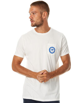 VINTAGE WHITE MENS CLOTHING KATIN TEES - KNWANH16VWHT