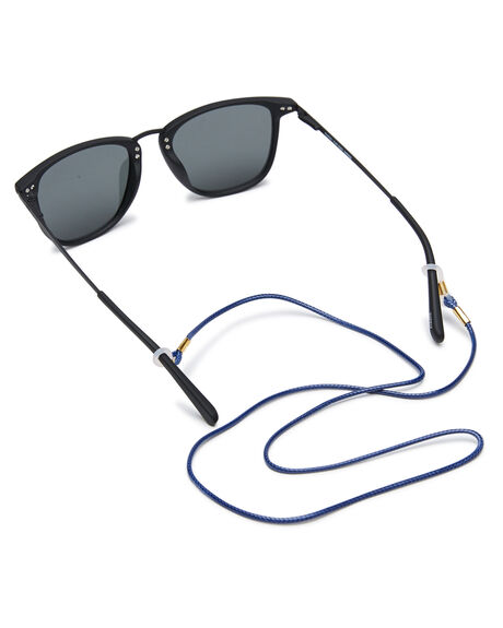 MATTE BLACK MENS ACCESSORIES LOCAL SUPPLY SUNGLASSES - NYCMBLK