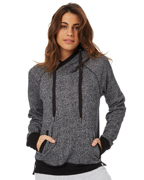 BLACK WOMENS CLOTHING RIP CURL JUMPERS - GFECX10090