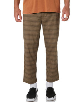 GLEN PLAID MENS CLOTHING MISFIT PANTS - MT085607GLEN