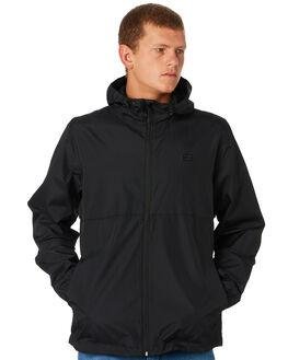 BLACK MENS CLOTHING BILLABONG JACKETS - 9581901BLK