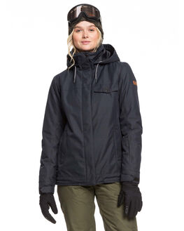 TRUE BLACK BOARDSPORTS SNOW ROXY WOMENS - ERJTJ03235-KVJ0
