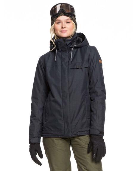 TRUE BLACK BOARDSPORTS SNOW ROXY WOMENS - ERJTJ03235-KVJ0