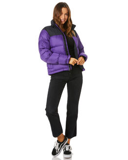 HERO PURPLE WOMENS CLOTHING THE NORTH FACE JACKETS - NF0A3XEON5N