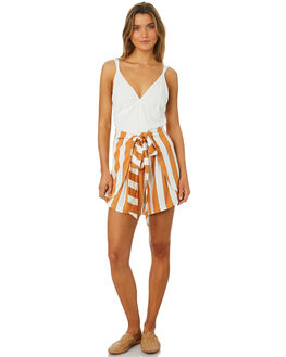 SEDONA STRIPE WOMENS CLOTHING SANCIA SHORTS - 695ASTRIP