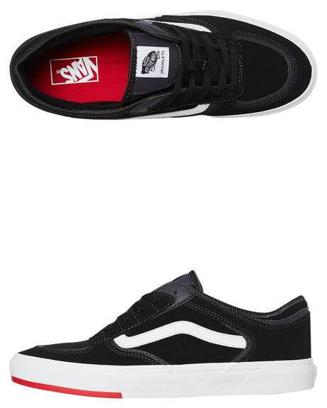 BLACK MENS FOOTWEAR VANS SNEAKERS - VNA4BTTSK5