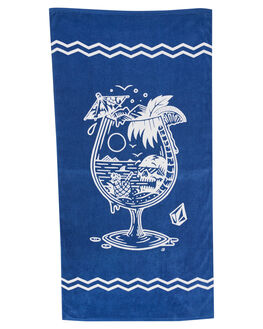 GREY BLUE BOARDSPORTS SURF VOLCOM TOWELS - D6701978GRYBL