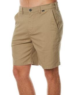 KHAKI MENS CLOTHING HURLEY SHORTS - AMWSOOC226B