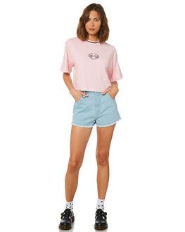 PRISM PINK WOMENS CLOTHING AFENDS TEES - W191001PRI