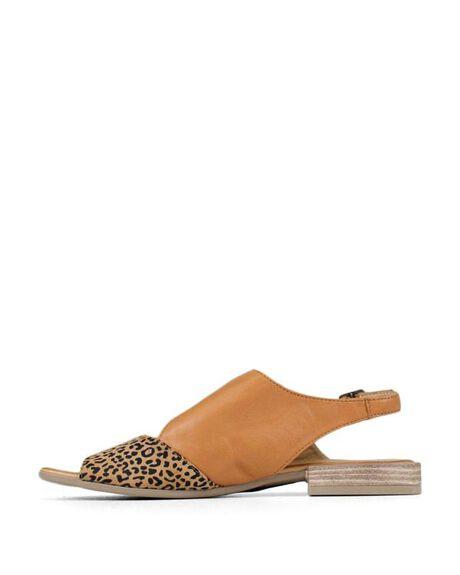 SCISSORS LEOPARD WOMENS FOOTWEAR BUENO FASHION SANDALS - BUALYSSASCSL