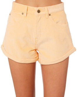 APRICOT CREAM OUTLET WOMENS AFENDS SHORTS - W181303APR