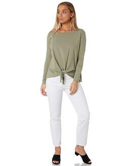 MOSS WOMENS CLOTHING BETTY BASICS TEES - BB256W19MOSS