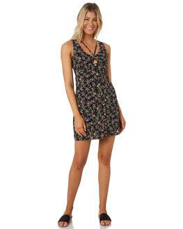 MULTICOLOURED WOMENS CLOTHING VOLCOM DRESSES - B1341979MULTI