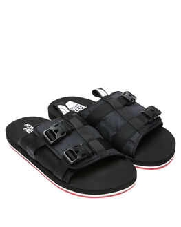 TNF BLACK MENS FOOTWEAR THE NORTH FACE SLIDES - NF0A46B3TJ2