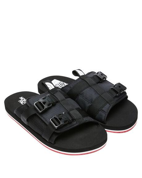 TNF BLACK MENS FOOTWEAR THE NORTH FACE SLIDES - NF0A46B3TJ2