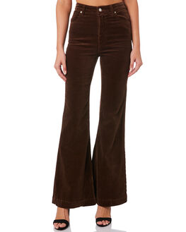 BROWN CORD WOMENS CLOTHING ROLLAS JEANS - 130071886