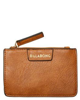 TAN WOMENS ACCESSORIES BILLABONG PURSES + WALLETS - 6692113BTN
