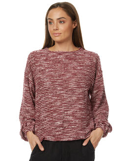 MERLOT WOMENS CLOTHING RUSTY JUMPERS - MWL0211MRL