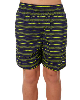 SPEEDO NAVY MOJITO KIDS BOYS SPEEDO BOARDSHORTS - 35Y60-6957