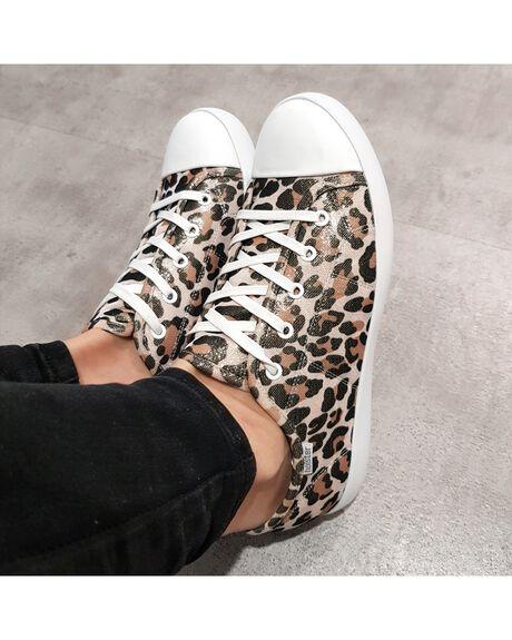 LEOPARD WOMENS FOOTWEAR HOLSTER SNEAKERS - HS352LEO5