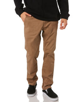 KHAKI MENS CLOTHING RIP CURL PANTS - CPAJZ70064