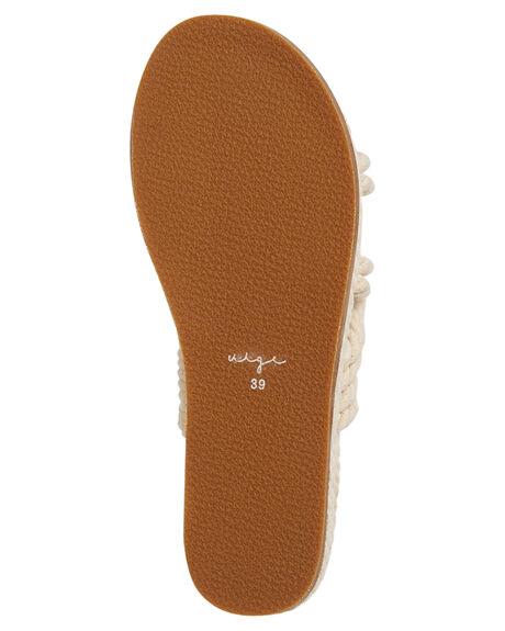 NATURAL ROPE WOMENS FOOTWEAR URGE FASHION SANDALS - URG17189NROPE