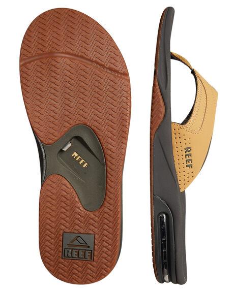 CHARCOAL TAN MENS FOOTWEAR REEF THONGS - 2026CTN