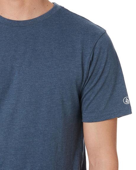 SMOKEY BLUE MENS CLOTHING VOLCOM TEES - A5032074SMB