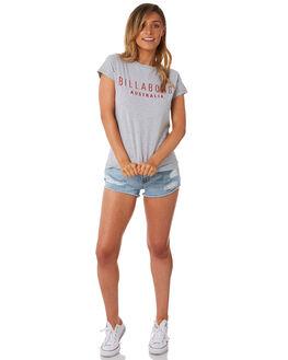 GREY MARLE WOMENS CLOTHING BILLABONG TEES - 6581010GRY