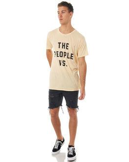 PEANUT SHELL MENS CLOTHING THE PEOPLE VS TEES - HS17011-PSPSHL